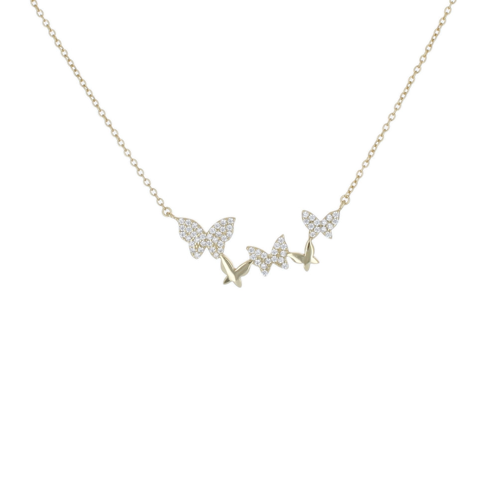 MINI BUTTERFLIES NECKLACE