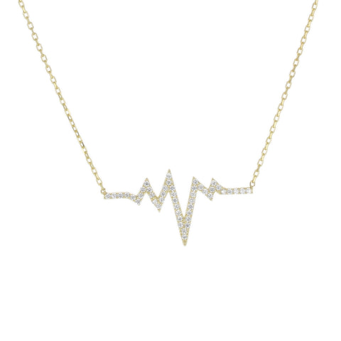 HEARTBEAT DAINTY NECKLACE