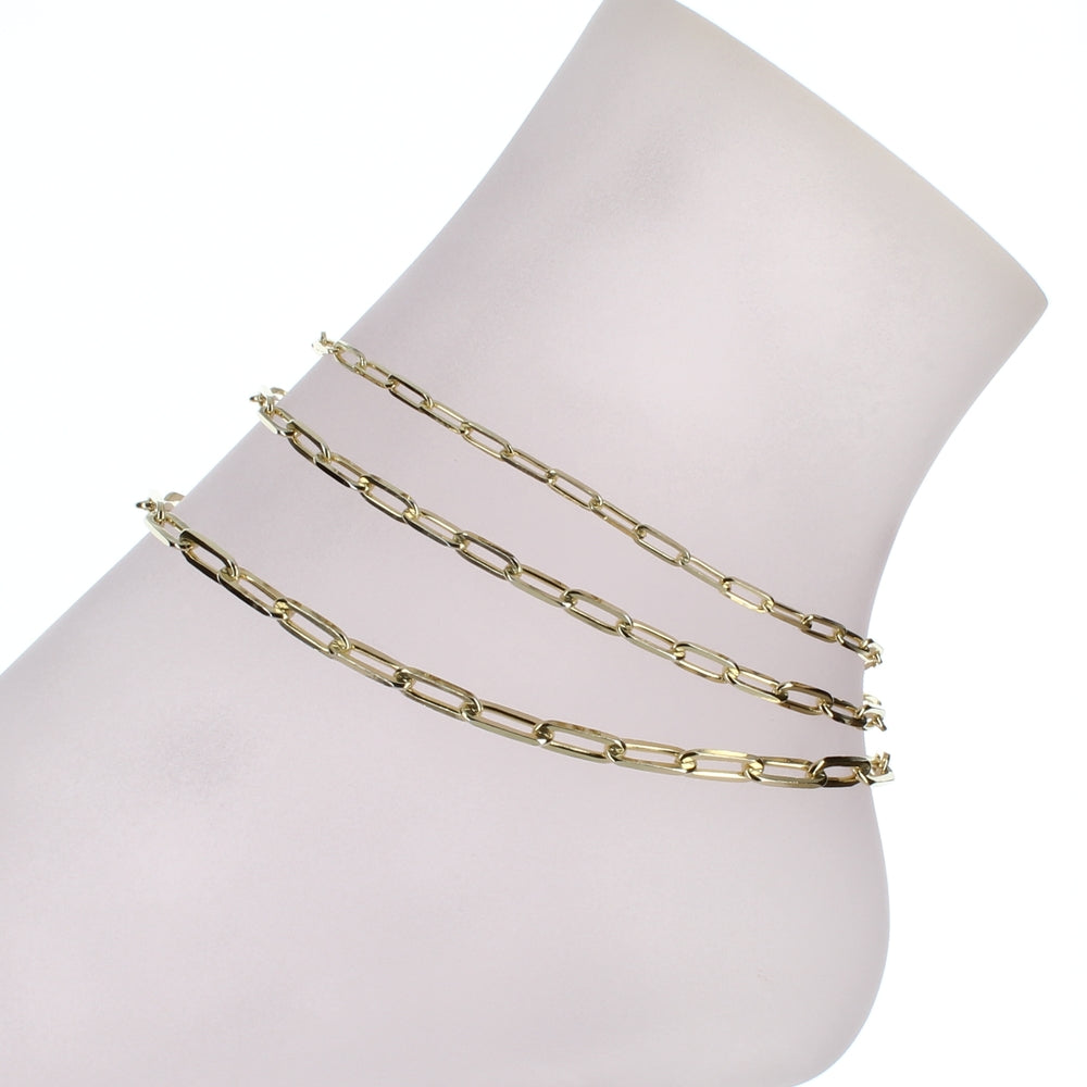 PAPERCLIP ANKLET