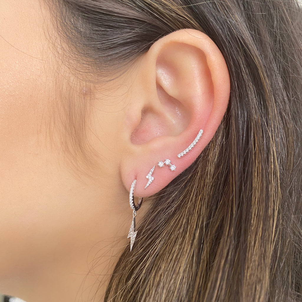 Lissy Mini Ear Climber Earrings