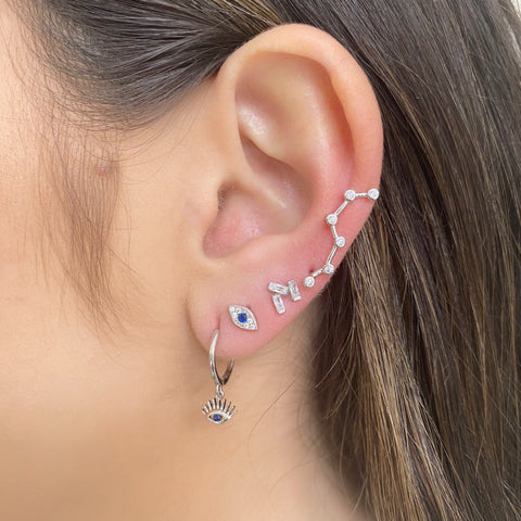 Juliette Constellation Ear Climber Earrings