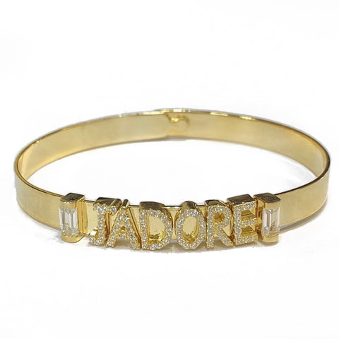 JADORE SLIDER CZ BANGLE