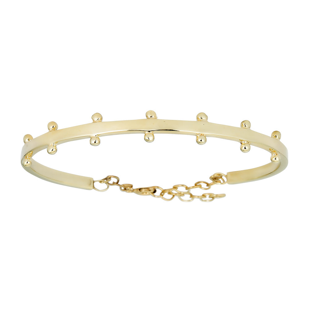 KENNY DOUBLE DOTTED BANGLE