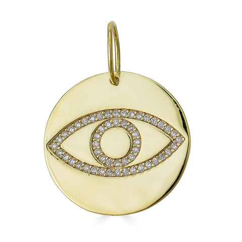 ALEXANDRIA EYE DISC CHARM