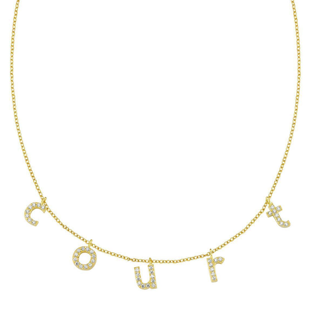 CUSTOM LOWER CASE NECKLACE