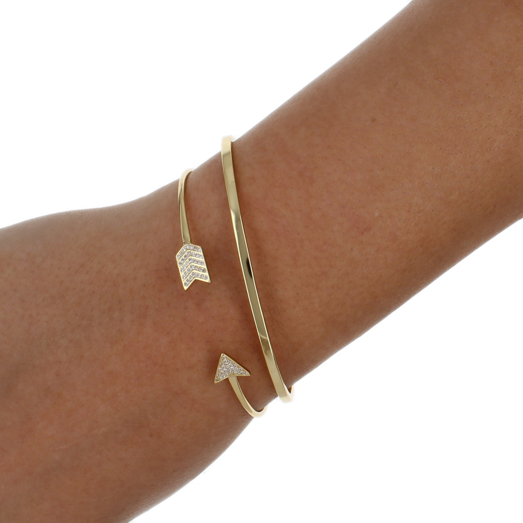 CZ ARROW BANGLE