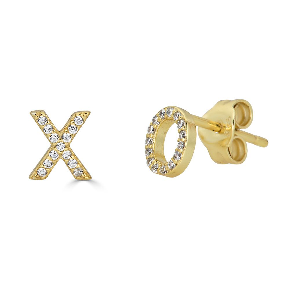 Kissy Stud Earrings