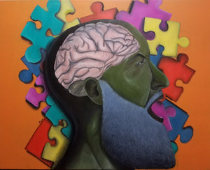 Puzzled Mind Painting