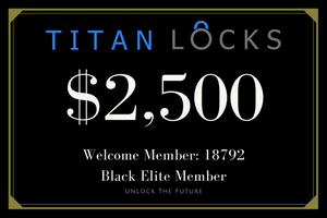 Titan Tier Member Rewards Gift Cards