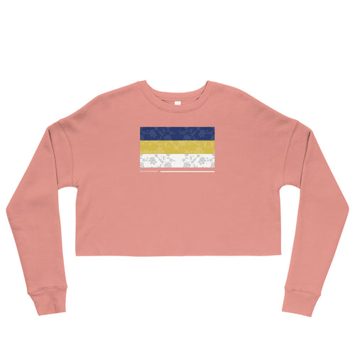 Fournineteen Flora Crop Sweatshirt