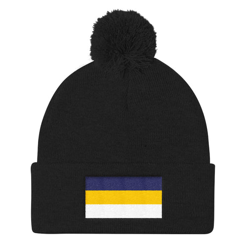Fournineteen Pom Pom Knit Cap