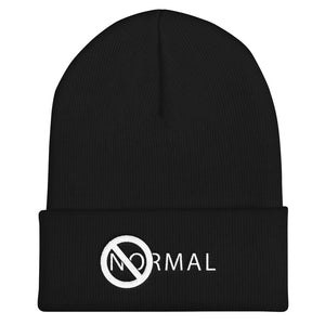 No Normal Cuffed Beanie