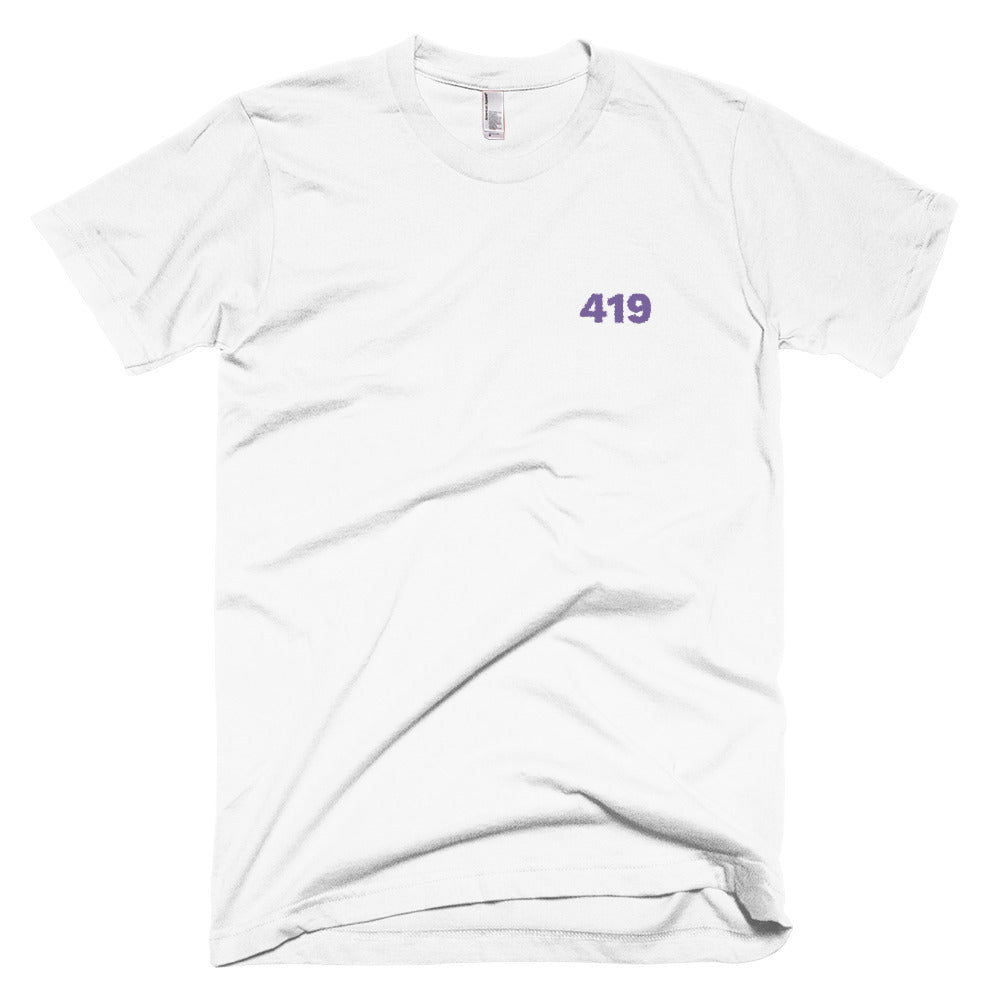 419 Embroidered T-Shirt