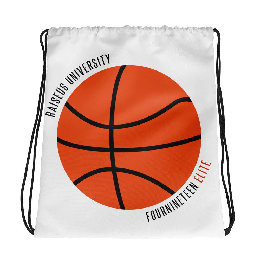 Raiseus University Drawstring bag