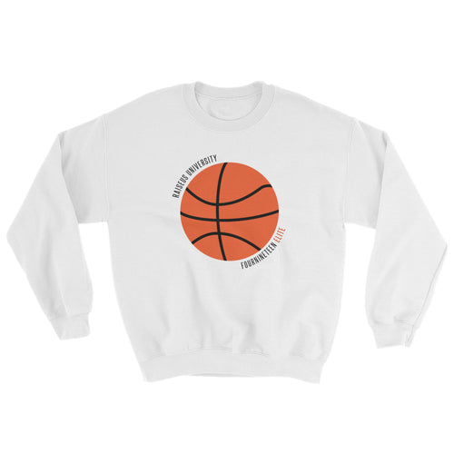 Raiseus University Basketball Crewneck