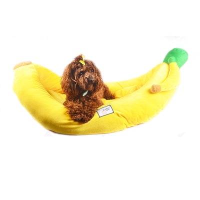 Banana Boat Dog Bed - Pet Bargain Supplies