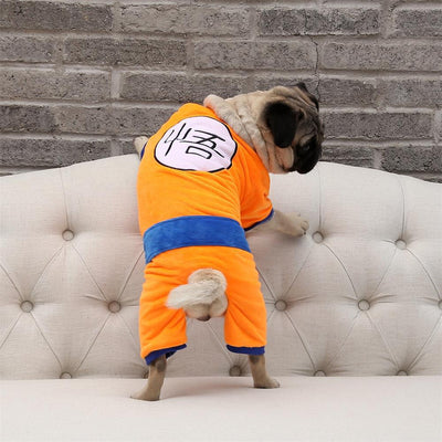 DragonBall Z Halloween Dog Costume