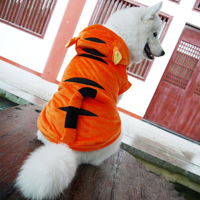 Tiger Halloween Dog Costume