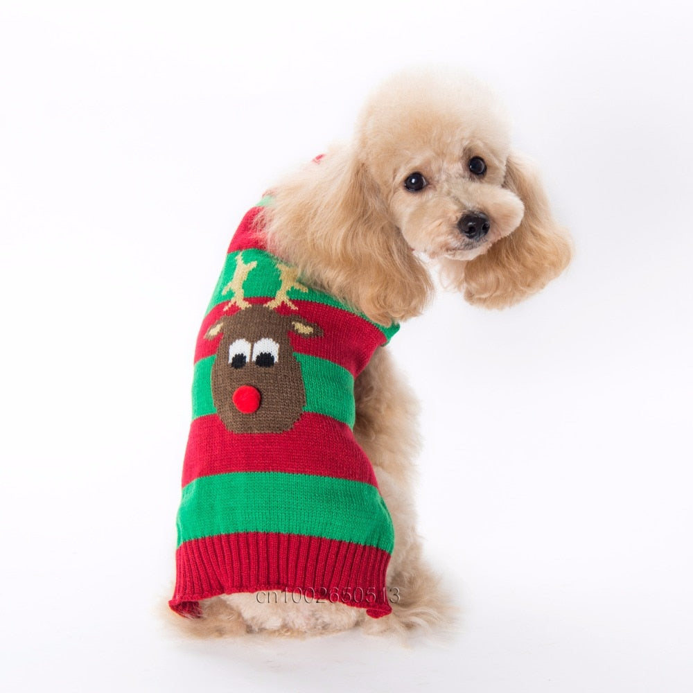 Reindeer Dog Sweater