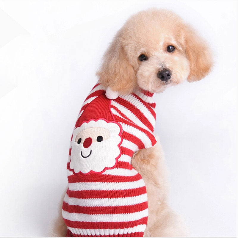 Santa Clause Dog Sweater
