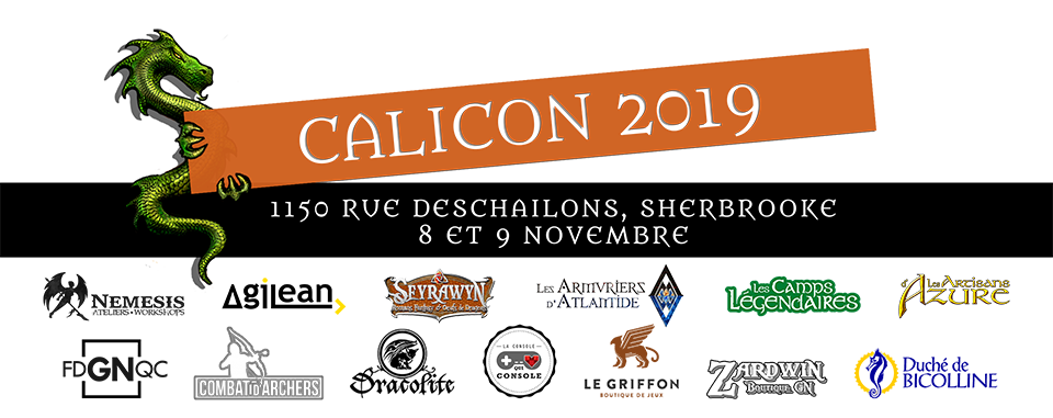 CaliCON Banner