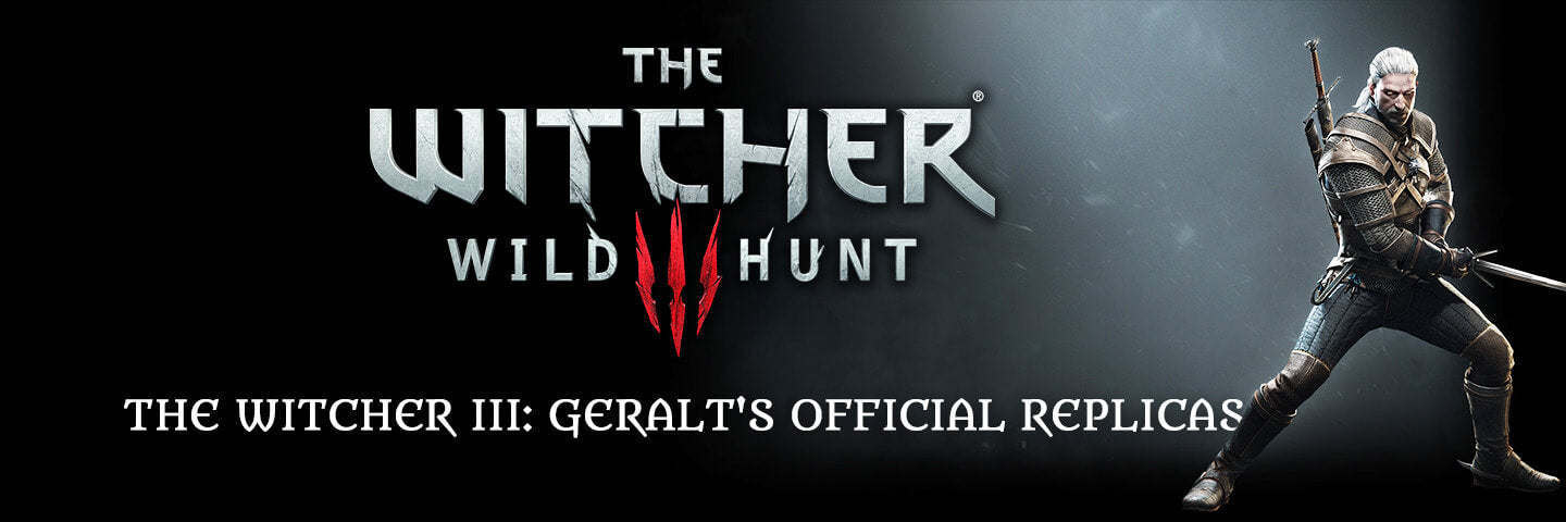 The Witcher III: Geralt's Official Replicas