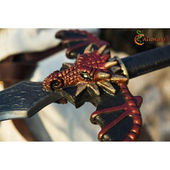 Dragon LARP sword crossguard