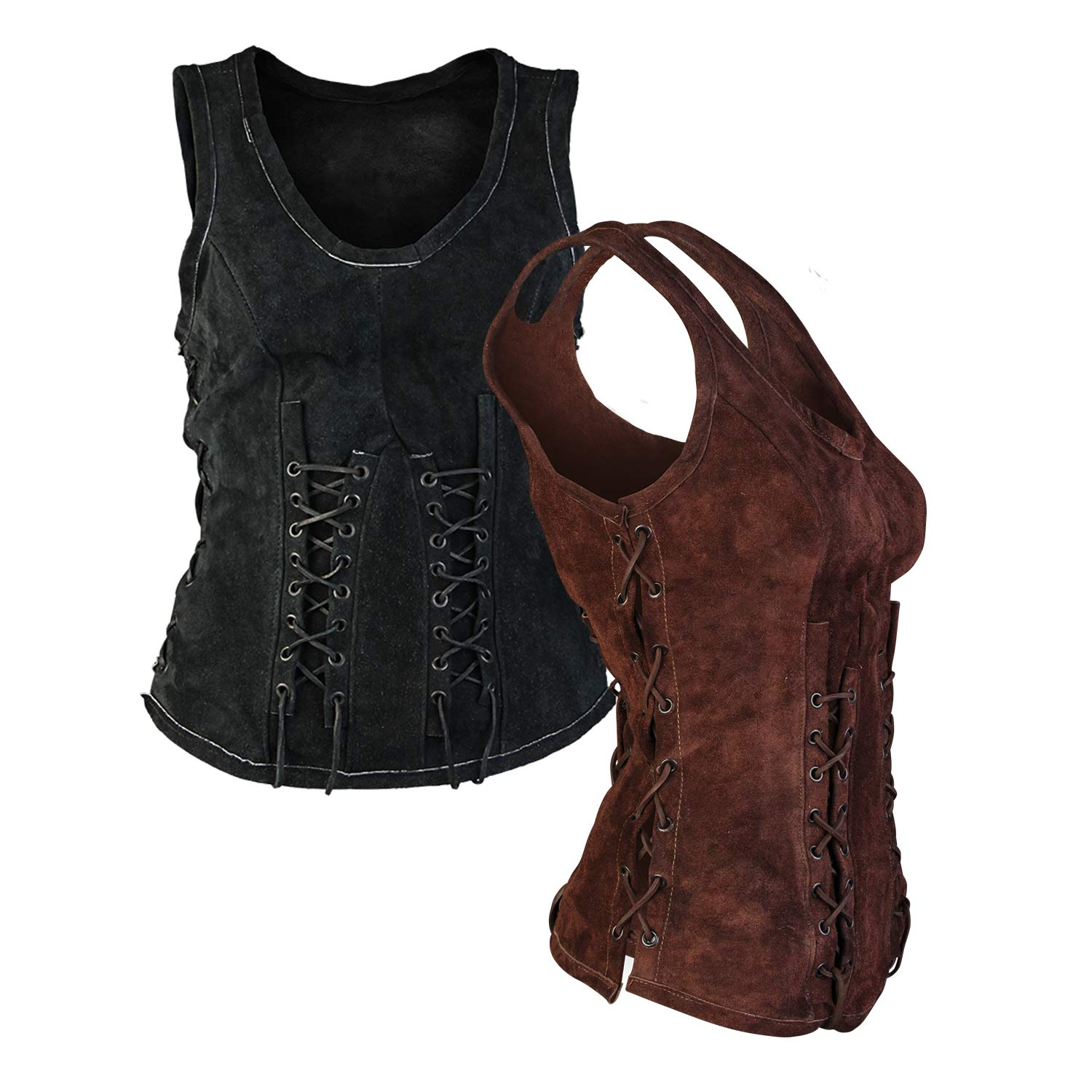 Sarina leather bodice
