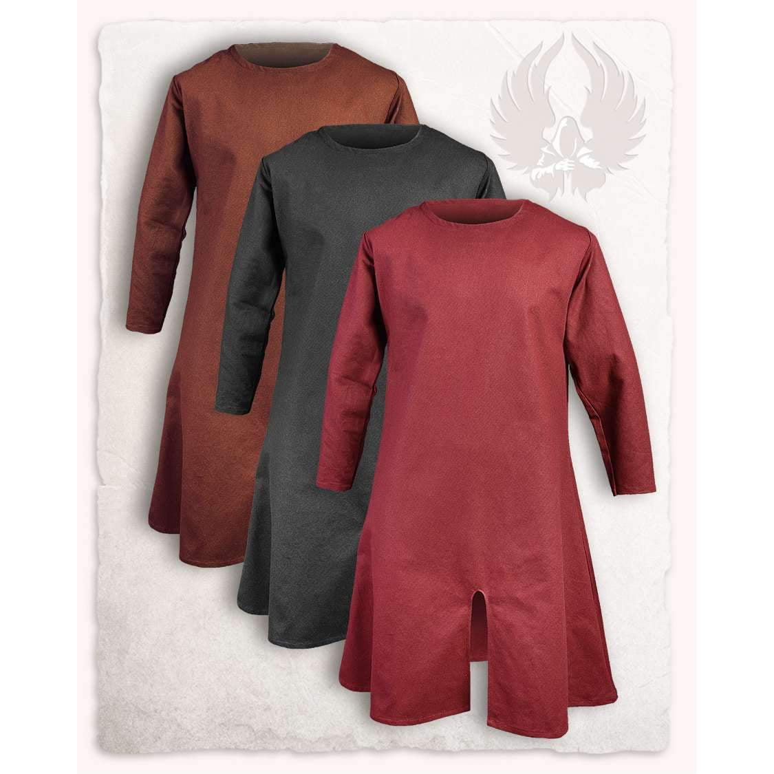 Wolfram long tunic premium canvas (black - XXXL)