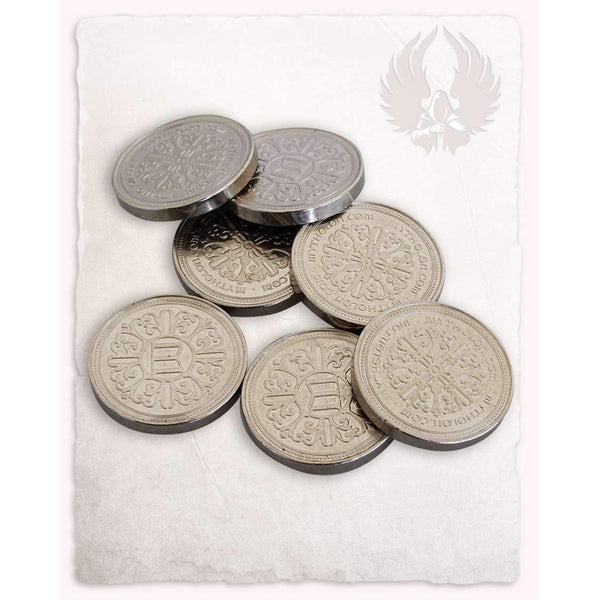 Larp coin silver set of 10