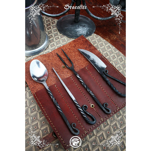Medieval Stainless Steel Utensil Set