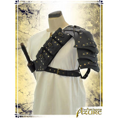Multipouches Pauldron (Right shoulder) - Black