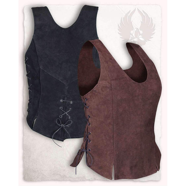 Lisa leather bodice