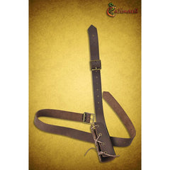 Dagger Leg Scabbard (Brown)