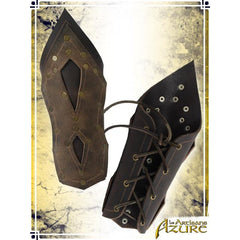 Mercenary's Bracers - Brown/Tan