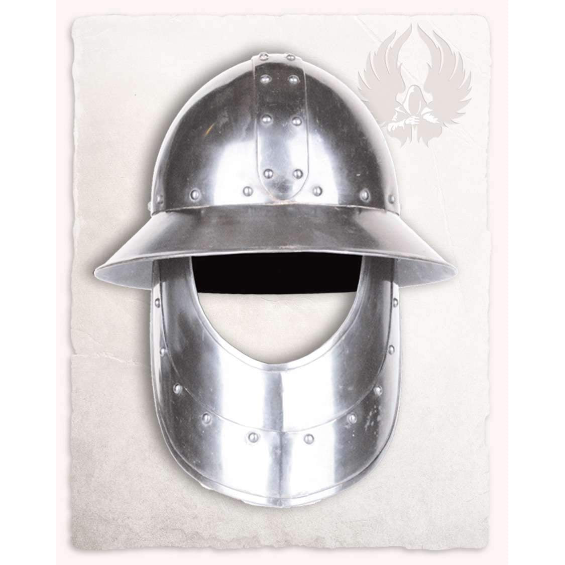 Kettle hat with visor