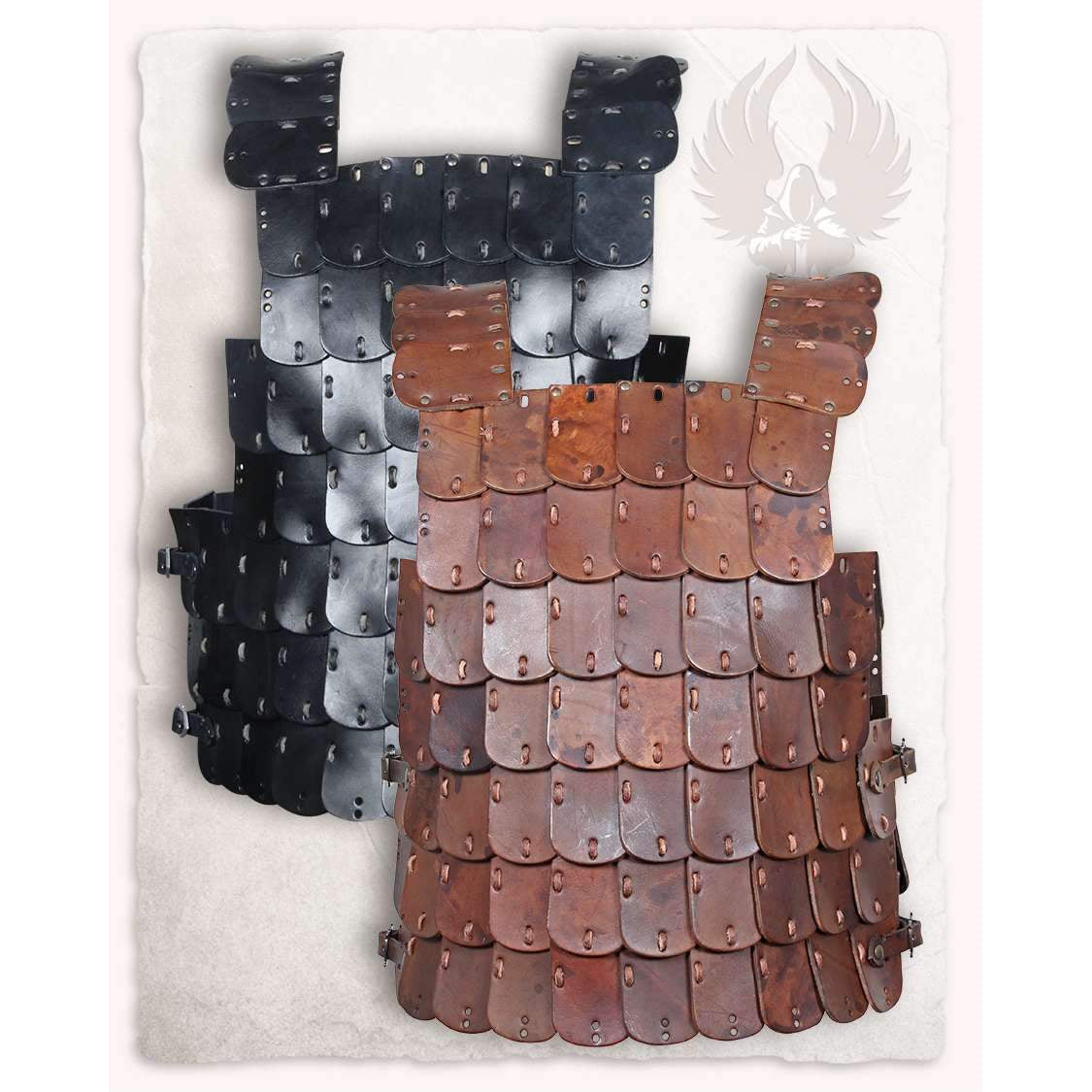 Shapur lamellar armour