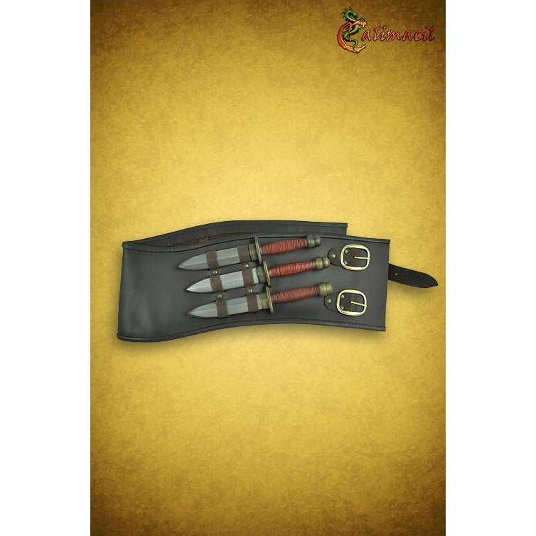 Throwing knives belt