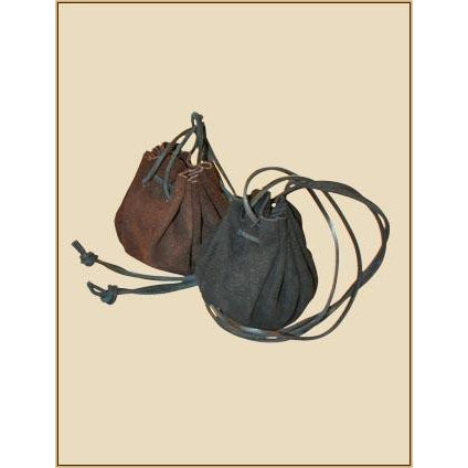 Zacharia pouch brown