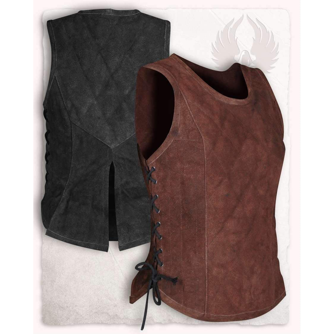 Lucy leather bodice