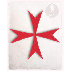Hospitallers cross patch