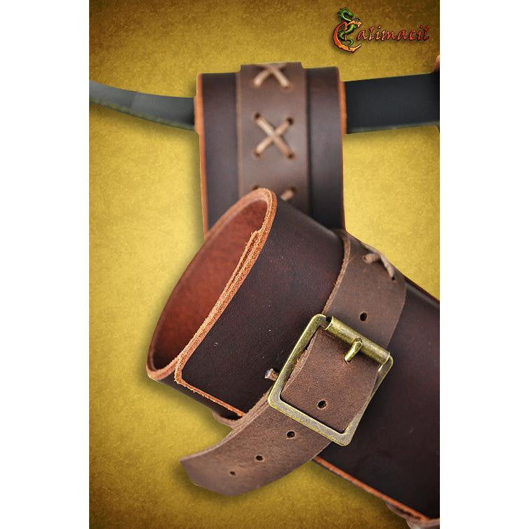 Laced scabbard (Brown)