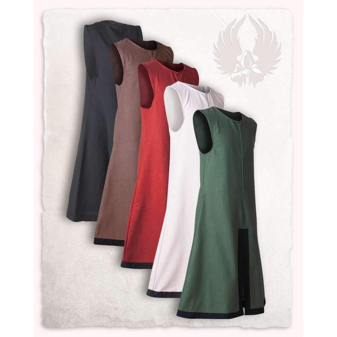 George tabard (red/black - XL)