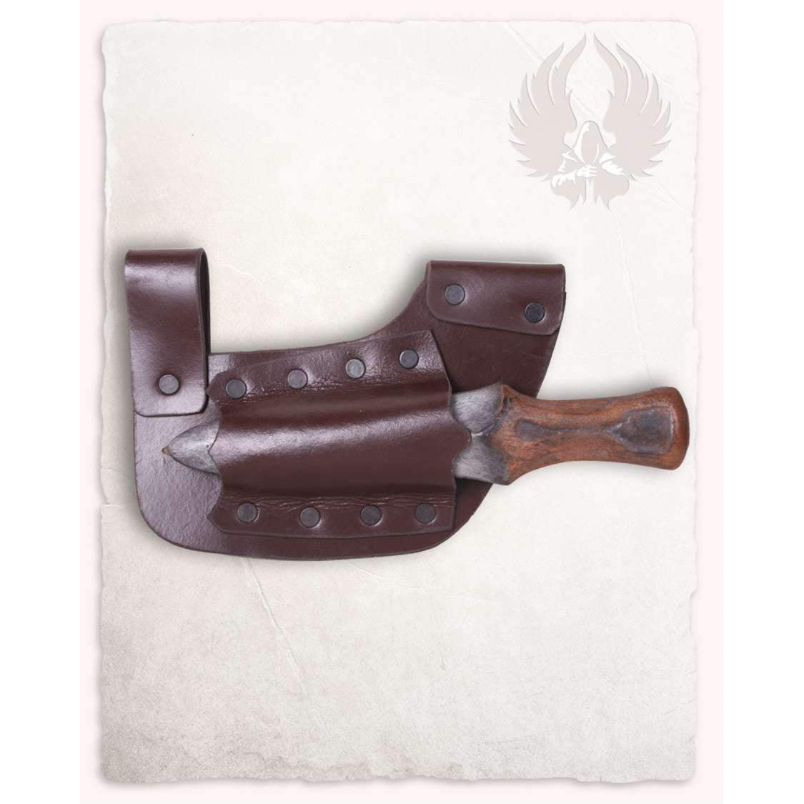 Doran throwing dagger sheath horizontal