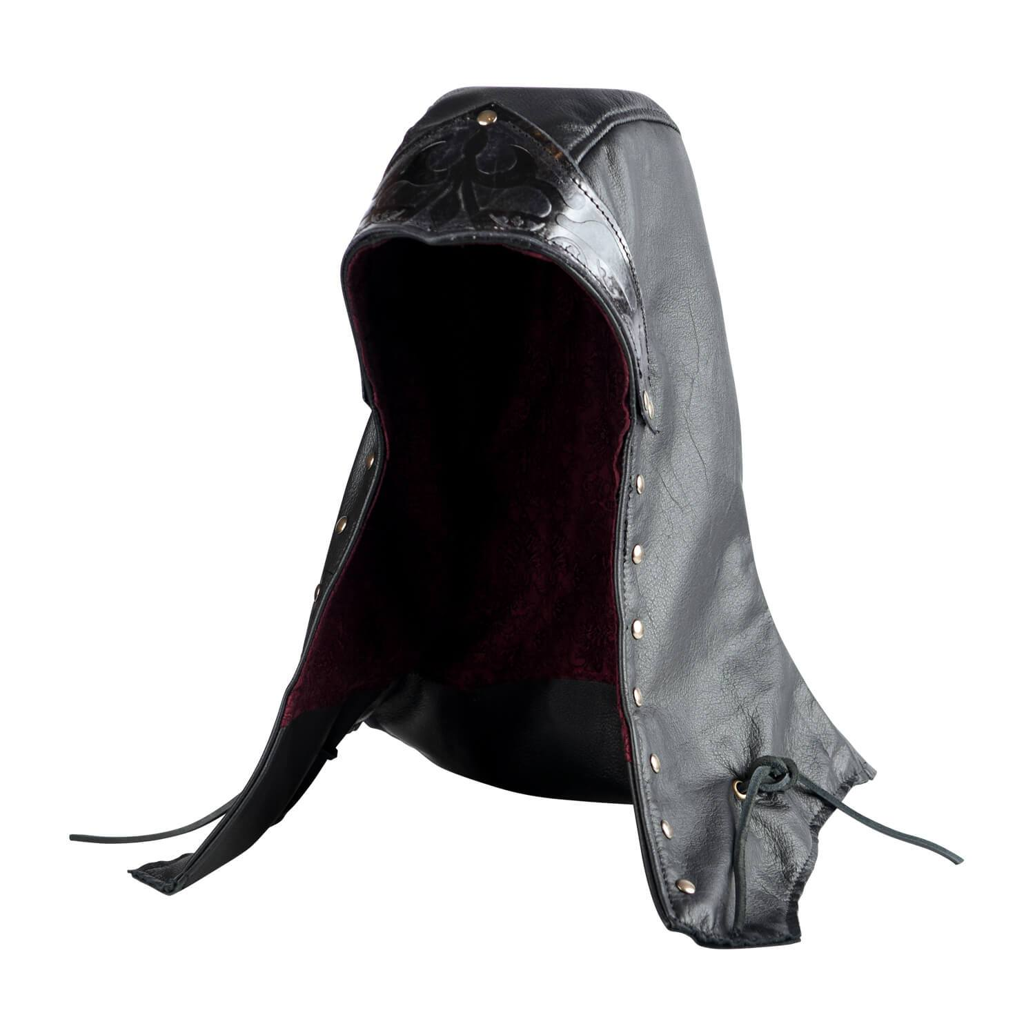 Assassin Leather Hood