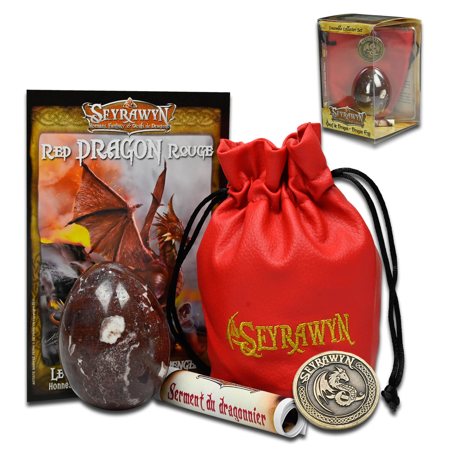 Seyrawyn Dragon Egg - Collector Set