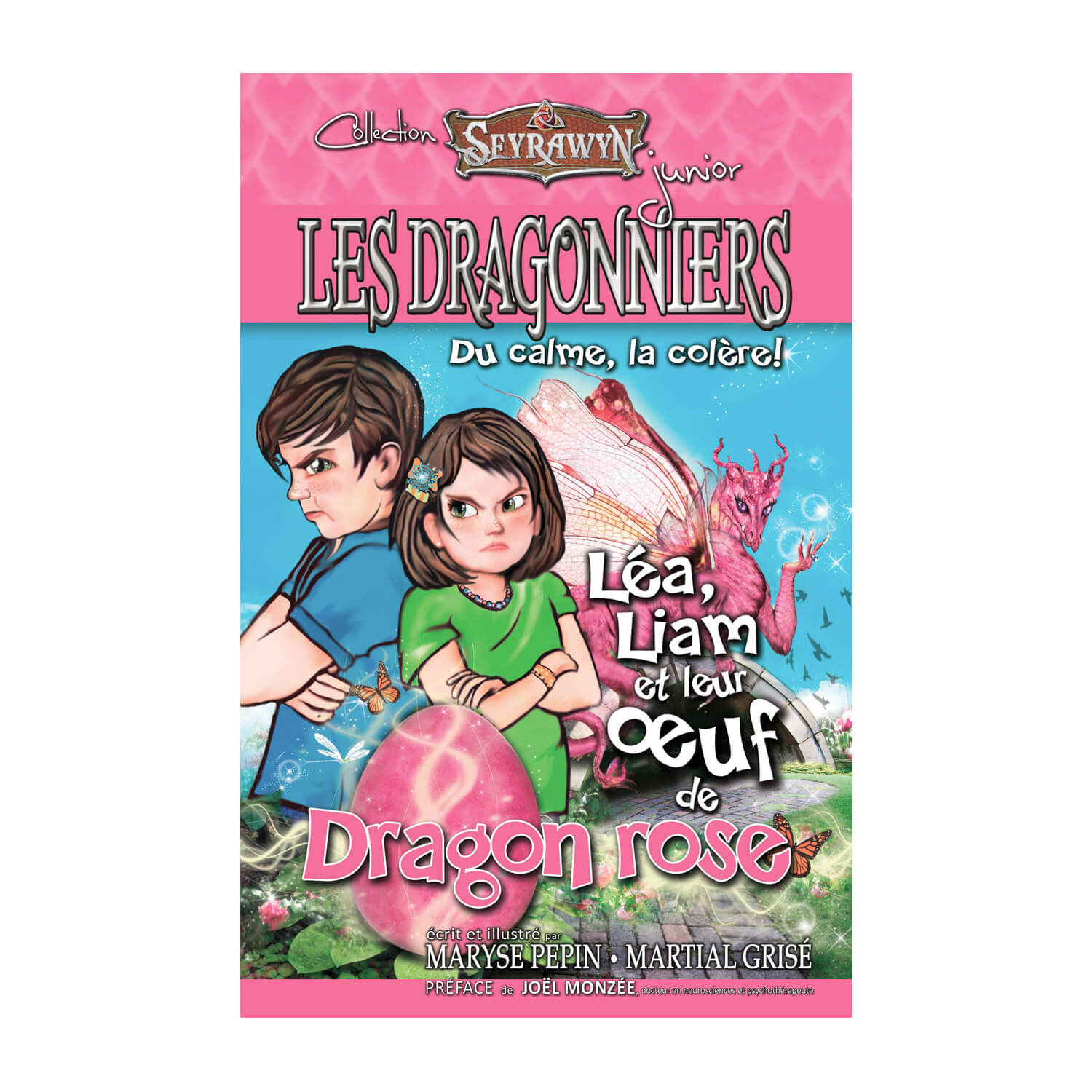 Les dragonniers 2 (oeuf Dragon rose)