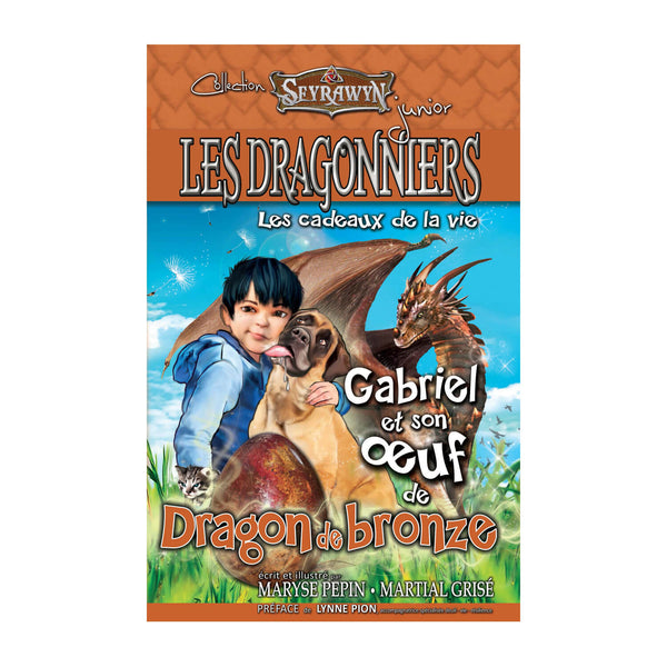 Les dragonniers 7 (oeuf Dragon bronze)