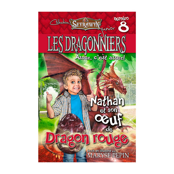 Les dragonniers 8 (oeuf Dragon rouge)