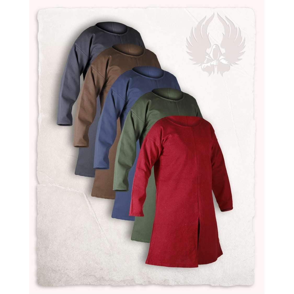 Gadaric tunic canvas (brown - XXXL)